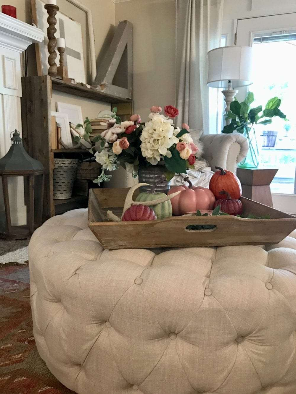 My perfect Fall color palate and a new slipcover